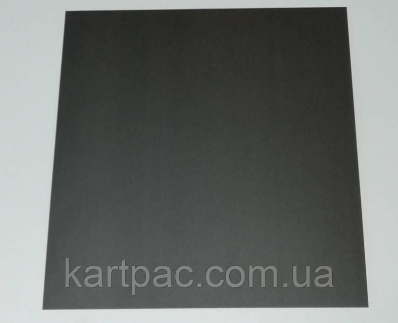 Кондитерская подложка для торта черная 300*300 мм