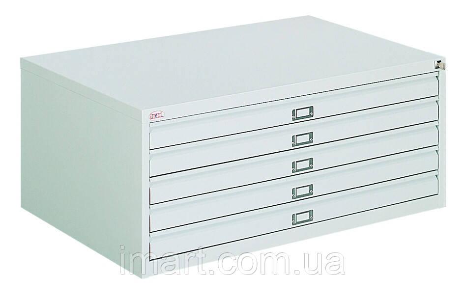 Шкаф для хранения чертежей металлический Srm 101. Шафа для зберігання креслень металева