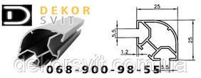 Алюминиевый торговый профиль 2578 для производства прилавков и витрин