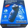 Професійна Чоловіча Електробритва Toshiko TK 356 Deluxe з тримером, фото 3