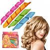 Волшебные БИГУДИ 16 ШТ для волос, любой длины Hair Wavz, бигуди-спираль, фото 2