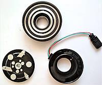Муфта электромагнитная шкив компрессора кондиционера Шкода Октавия ТУР Skoda Octavia Tour 1J0820811M