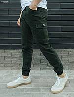 Мужские брюки карго (чоловічі штани карго стаф) Staff cargo haki modern FFK0017