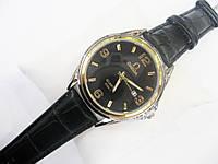 Мужские кварцевые наручные часы Omega, Black