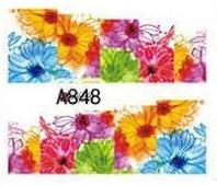 Слайд для дизайна ногтей A848