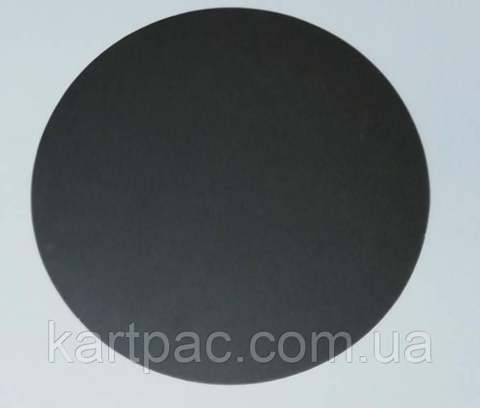 Ламінована картонна підкладка чорна 280 мм