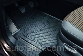 Оригинальные передниерезиновыековрики в салон Volkswagen Amarok (2H) (2010-2017) (2H106150282V )
