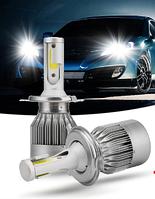 Комплект LED ламп C6 HeadLight H1 12v COB