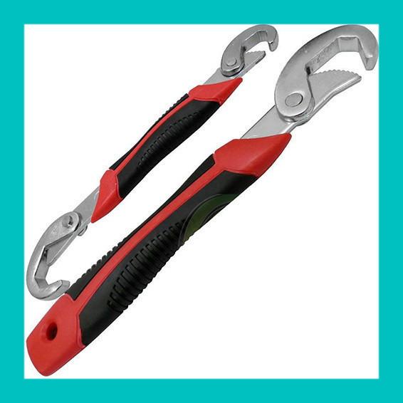 Набор из двух ключей, Универсальный гаечный ключ Snap and Grip
