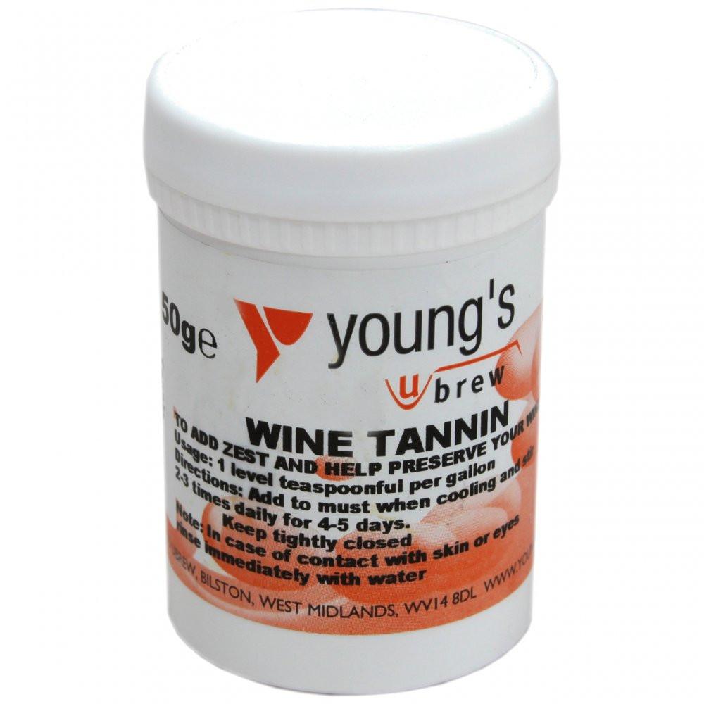 Танин для вина Wine Tannin Young's 50г (Великобритания)