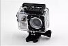 Экшн камера A7 FullHD + аквабокс + Регистратор Полный компект+крепление шлем СЕРЕБРО, фото 9