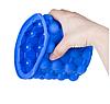 Силиконовое ведро-форма для льда Ice Genie с крышкой, фото 4