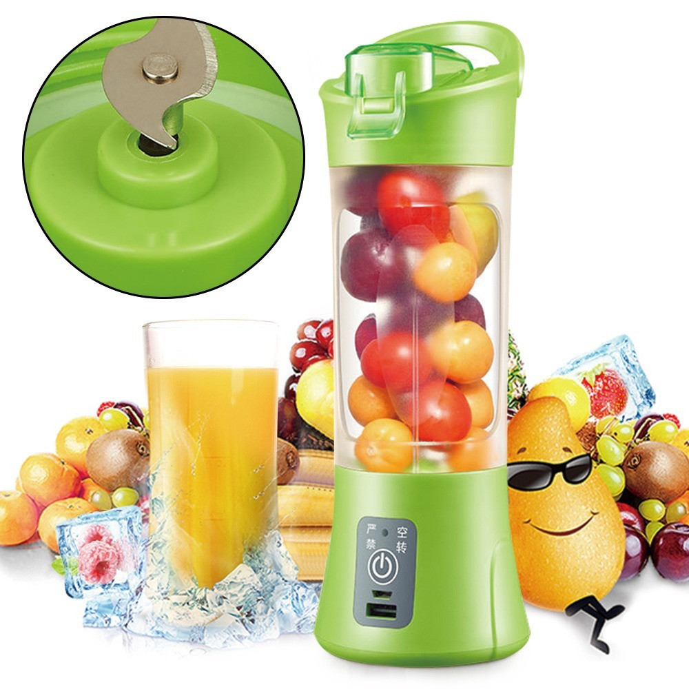 Фитнес-блендер Smart Juice Cup Fruits QL-602 Портативный миксер, шейкер с USB