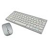 Беспроводная клавиатура с мышью W03 White, фото 3