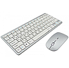 Беспроводная клавиатура с мышью W03 White, фото 4