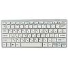 Беспроводная клавиатура с мышью W03 White, фото 5