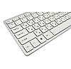 Беспроводная клавиатура с мышью W03 White, фото 6