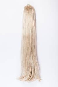 Ровные шиньоны на крабе №1. Цвет холодный блонд