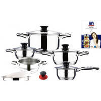 Набор посуды 17 предметов MillerHaus MH 9055
