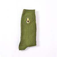Носки Mo Xiao - высокие - Авокадо - зеленые