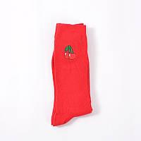 Носки Mo Xiao - высокие - Вишня - красные