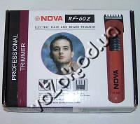 Беспроводная машинка триммер для стрижки волос Nova RF-602 на аккумуляторе, фото 1