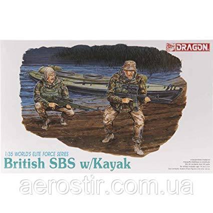 BRITISH SBS W/KAYAK 1/35 Dragon 3023