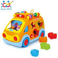 """Игрушка Huile Toys """"Веселый автобус"""""""
