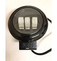 Светодиодная фара LED круг ближний 30W  Ø 115*60mm W0530BB Flood Корея 3064 (1шт)