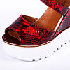 ... Хит сезона - босоножки от Almare на рельефной белой танкетке - Marigo -  обувь женская и 6be9c1b8c863a