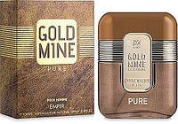 Мужская парфюмерная вода Gold Mine Pure 100ml.Emper
