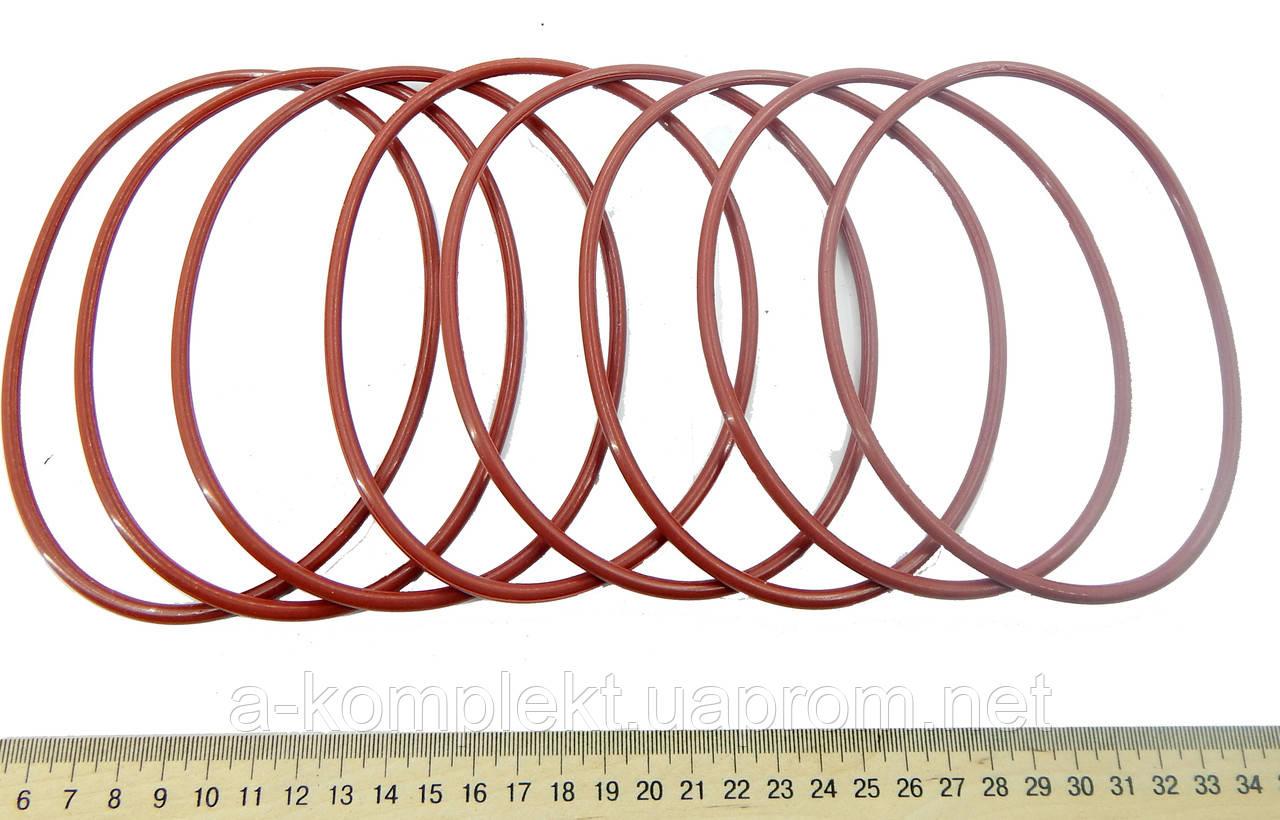 Упл.кольца гильзы двиг. Д-240, Д-65 (красная)
