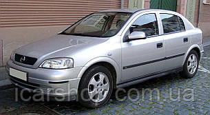 Кузовное стекло левое Opel Astra / Триплексное 98-04 фургон