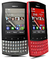 Корпус для Nokia Asha 303, оригинальный (серый)
