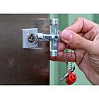 Универсальный ключ 12 в 1 для всех стандартных шкафов в области электротехники, газа, воды, и вентиляции WURTH, фото 10