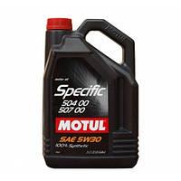 MOTUL  SPECIFIC 504 00 507 00 5W-30 5л