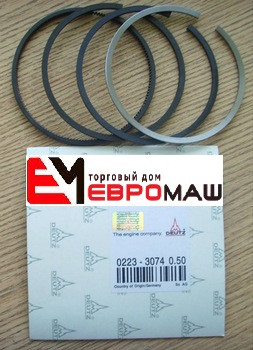 Кольца поршневые (100x3/2,5/5 mm) Deutz 912, 0223 3074
