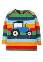 Реглан детский разноцветный Frugi, Bobby Applique, фото 1