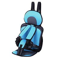 Безкаркасне Автокресло детское бескаркасное синее
