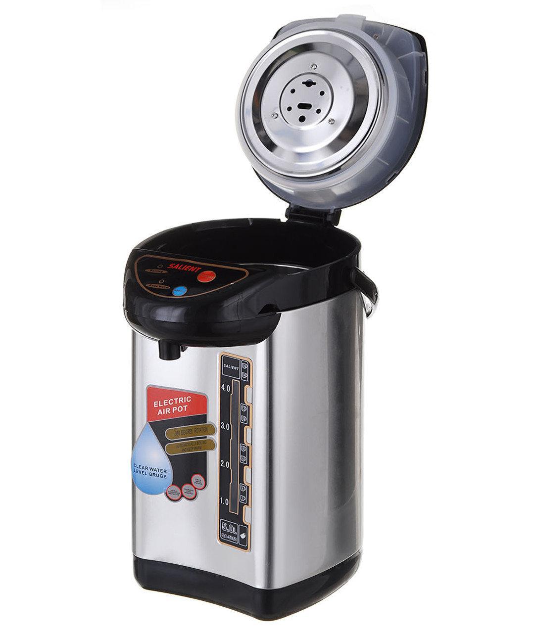 Термопот - Термос электрический с подогревом SAINAT 5.0 л (12249)