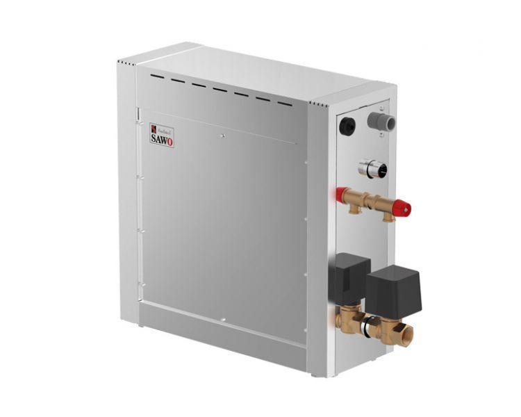 Парогенератор (Хаммам) SAWO STN DFP (Pump+Dim+Fan) 90  (9,0 кВт) Ароматерапия+Свет+Вентиляция - КОМПЛЕКТ