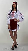 """Блуза вышитая женская """" Маряна""""  0-53, фото 1"""