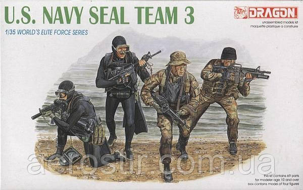 US Navy Seal Team 3 1/35 Dragon 3025