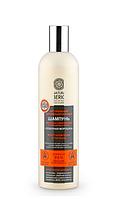 ШАМПУНЬ «СЕВЕРНАЯ МОРОШКА» для сильно поврежденных и окрашенных волос Восстановление и питание, 400 мл