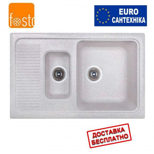 Кухонная гранитная мойка FOSTO 77x49 SGA-210