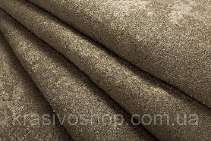 Ткань  блэкаут софт пробковый