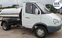 Молоковоз с цистерной для молока 1000 литров, на шасси ГАЗ- 3302, фото 1