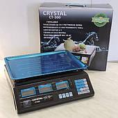 Ваги електронні 50 кг Крістал ( Crystal CT-500 )