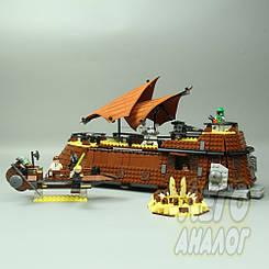 Пустынный корабль Джаббы (Star Wars) Lepin 05090 | Аналог Лего 75020