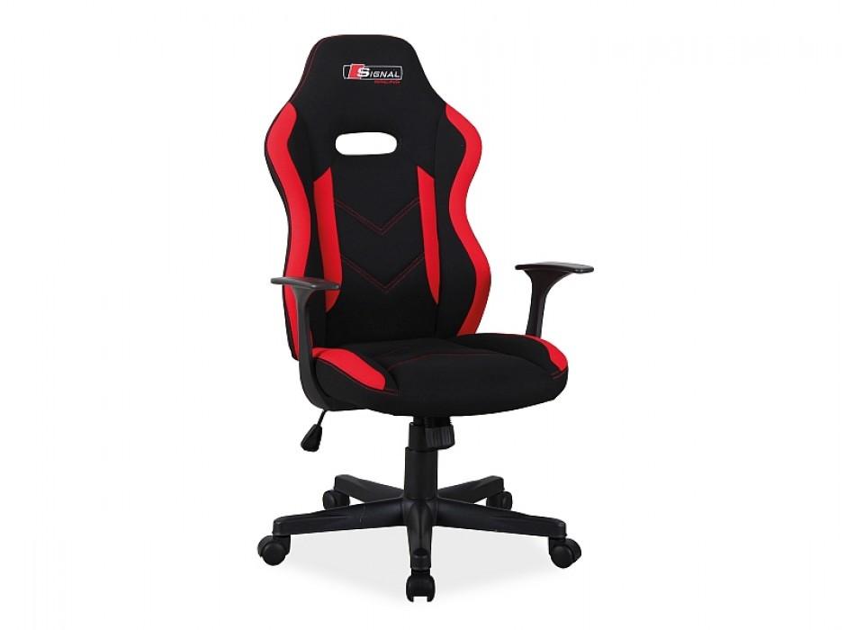 Компьютерное кресло Rapid Signal черный/красный